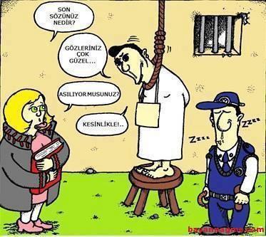 Komik Hapishane sözleri