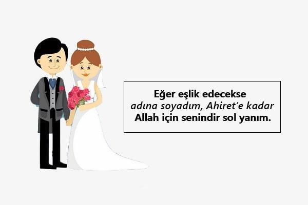islami Evlilik sözleri