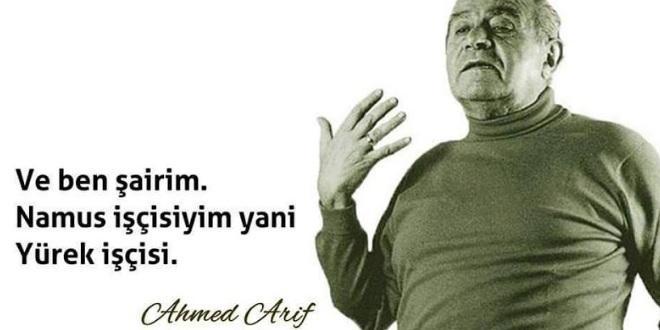Ahmed Arif Etkileyici Sözleri