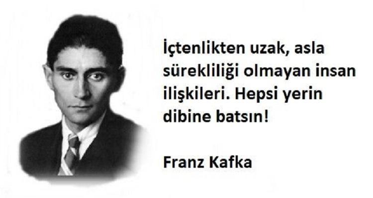 Kısa Franz Kafka Sözleri
