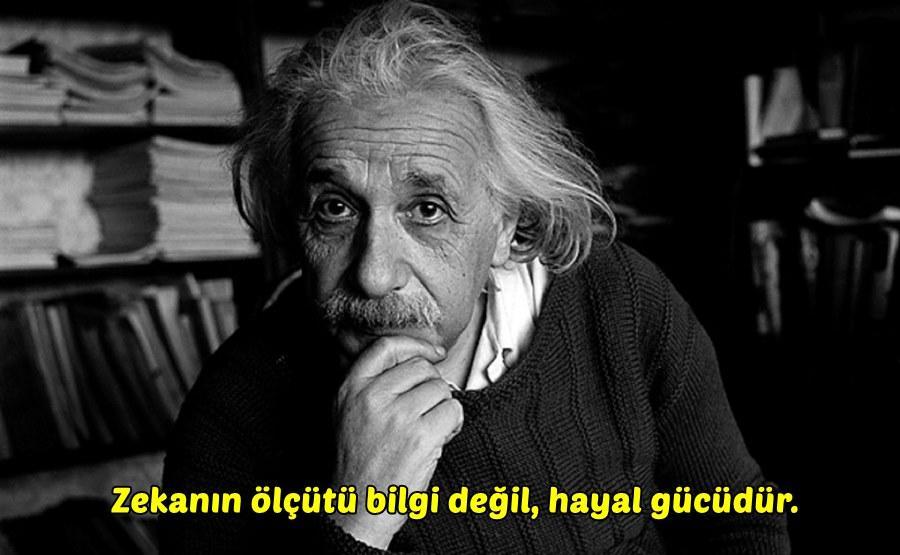 Albert Einstein Etkileyici Sözler