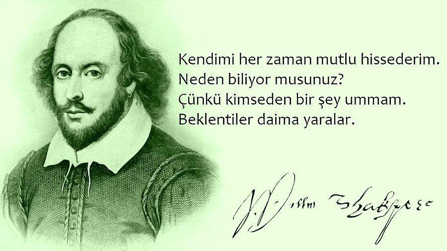 Anlamlı William Shakespeare Sözleri