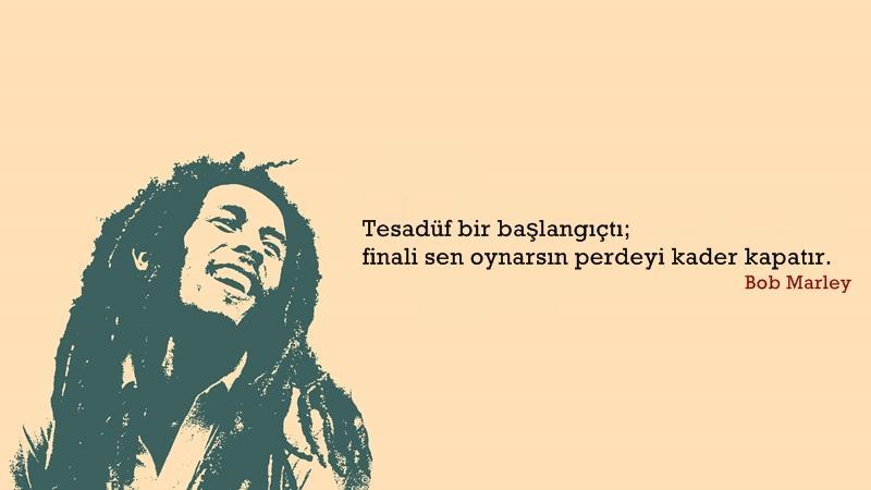 Bob Marley Etkileyici Sözleri