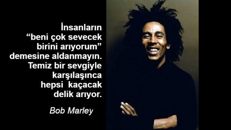 Bob Marley iz bırakan Sözleri