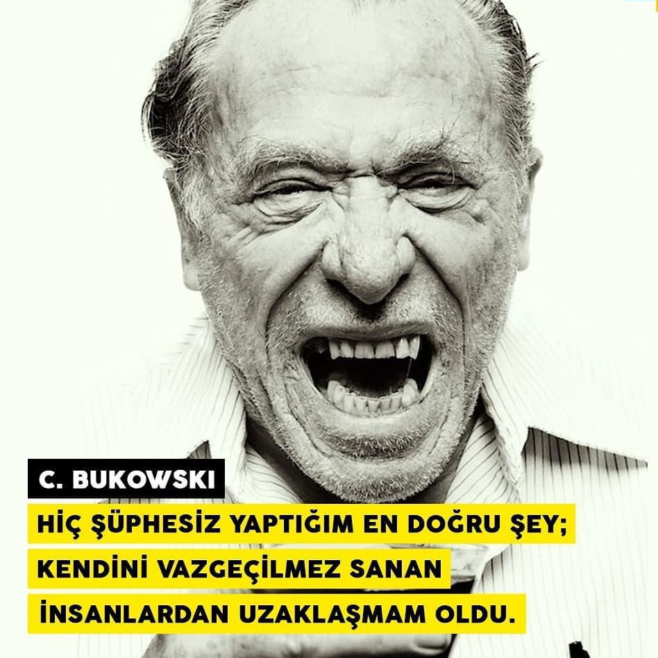 Charles Bukowski iz bırakan Sözleri
