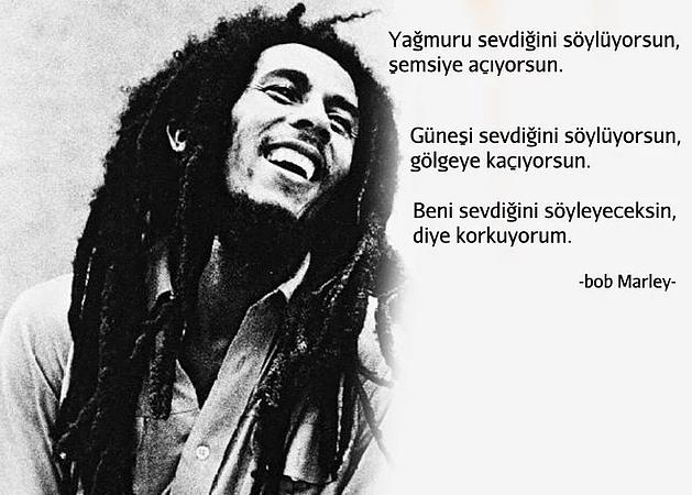 En Güzel Bob Marley Sözleri