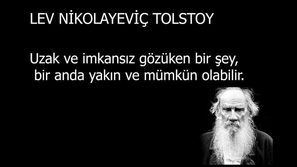Kısa Tolstoy Sözleri