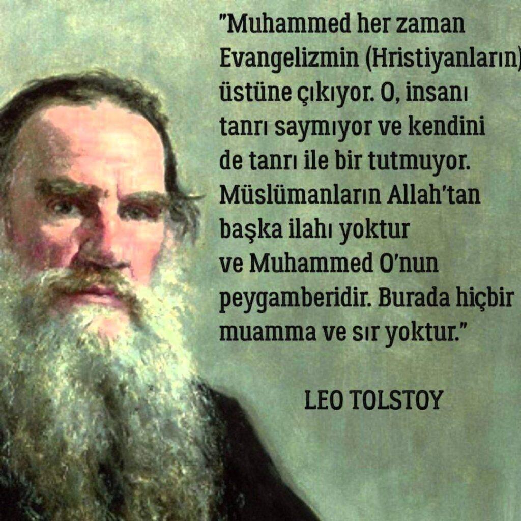 Tolstoy Etkileyici Sözleri