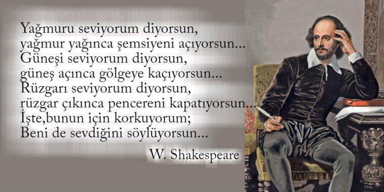 William Shakespeare Etkileyici Sözleri