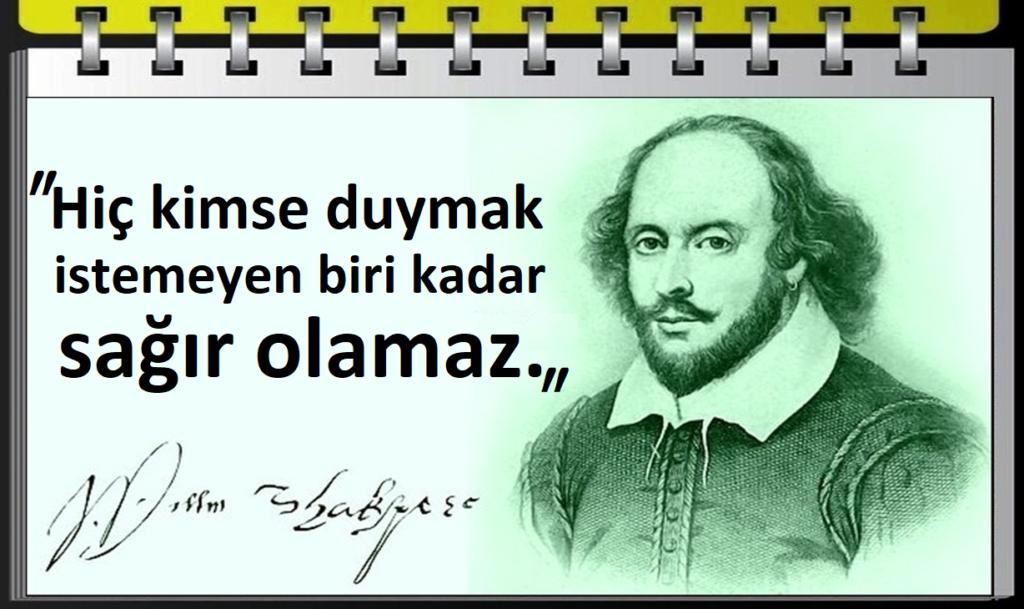 William Shakespeare Güzel Sözler