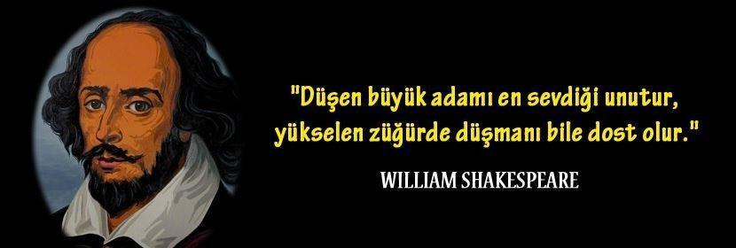 William Shakespeare Resimli Sözleri