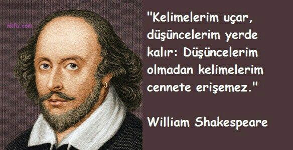 William Shakespeare kısa sözleri