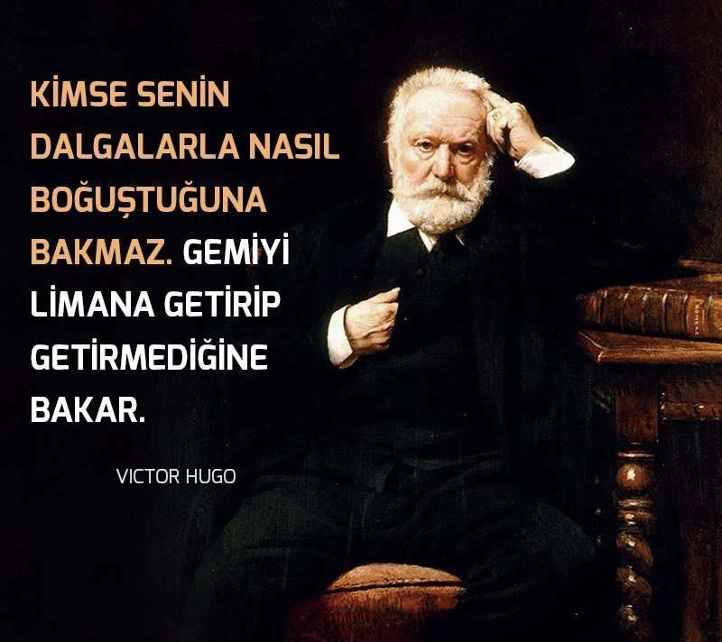 Victor Hugo Anlamlı Sözleri