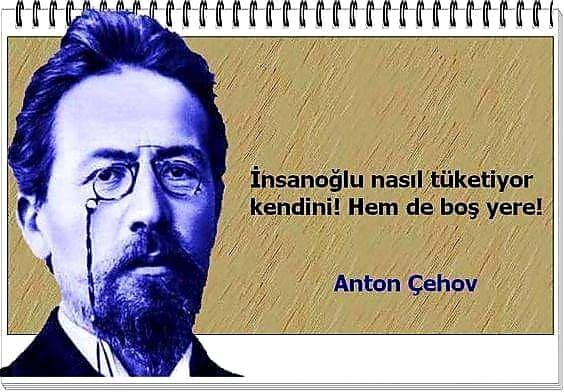 Anton Çehov Resimleri