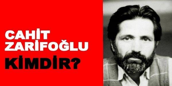 Cahit Zarifoğlu Kimdir