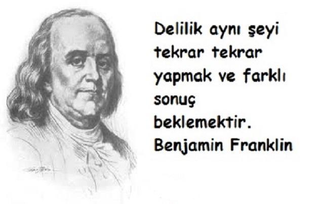 En Güzel Benjamin Franklin Sözleri