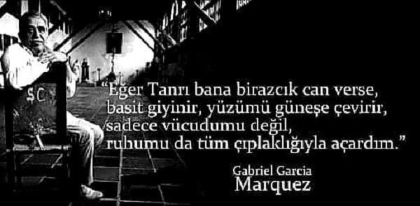 En Güzel Gabriel Garcia Marquez Sözleri