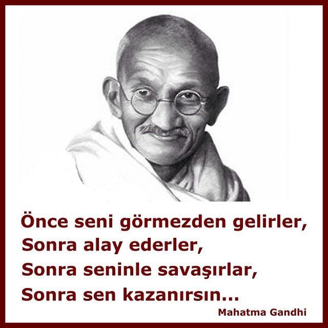 En Güzel Mahatma Gandi Sözleri