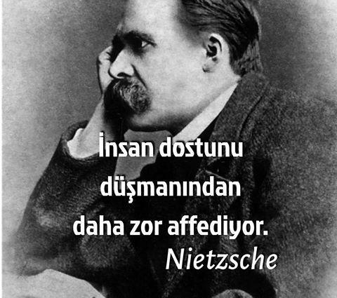 Kısa Friedrich Nietzsche Sözleri