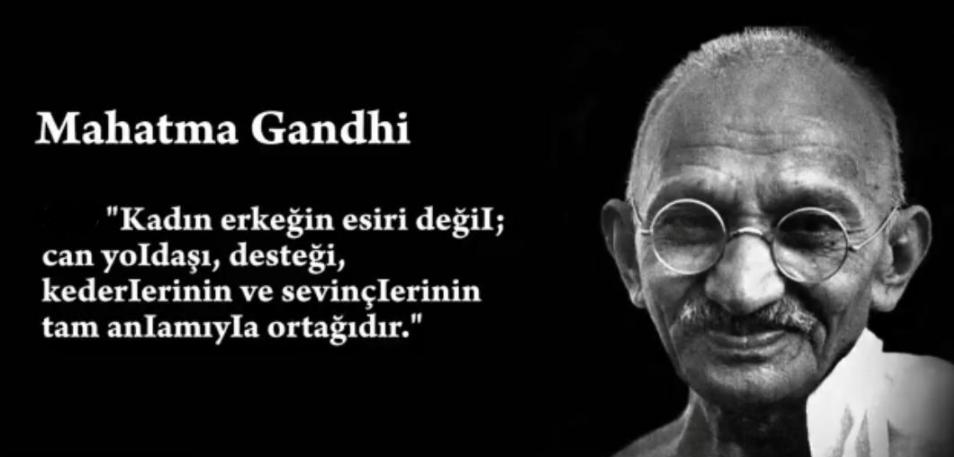 Mahatma Gandi Anlamlı Sözleri