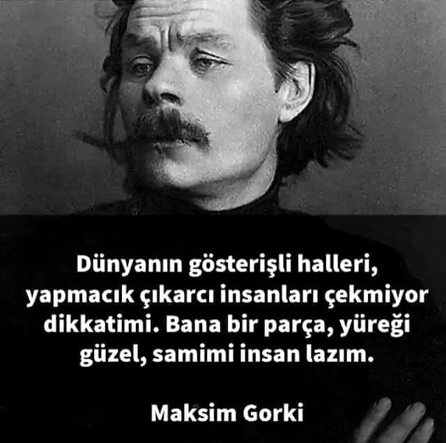 Maksim Gorki Resimleri