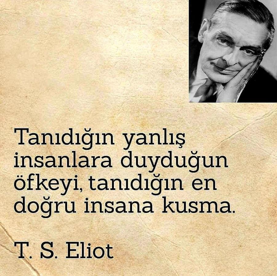 T. S. Eliot Anlamlı Sözleri