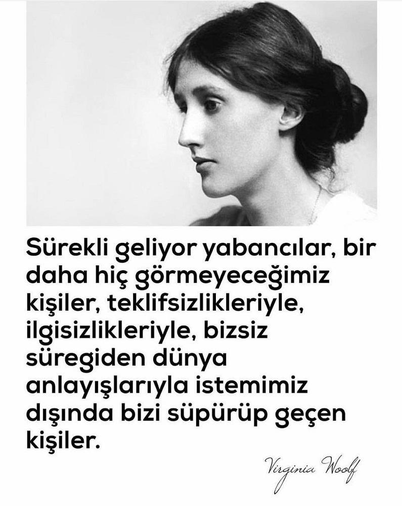 Virginia Woolf Etkileyici Sözleri