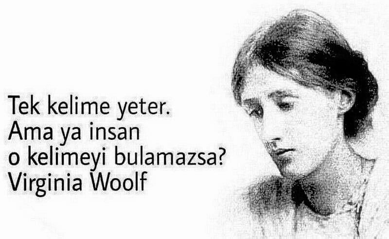 Kısa Virginia Woolf Sözleri