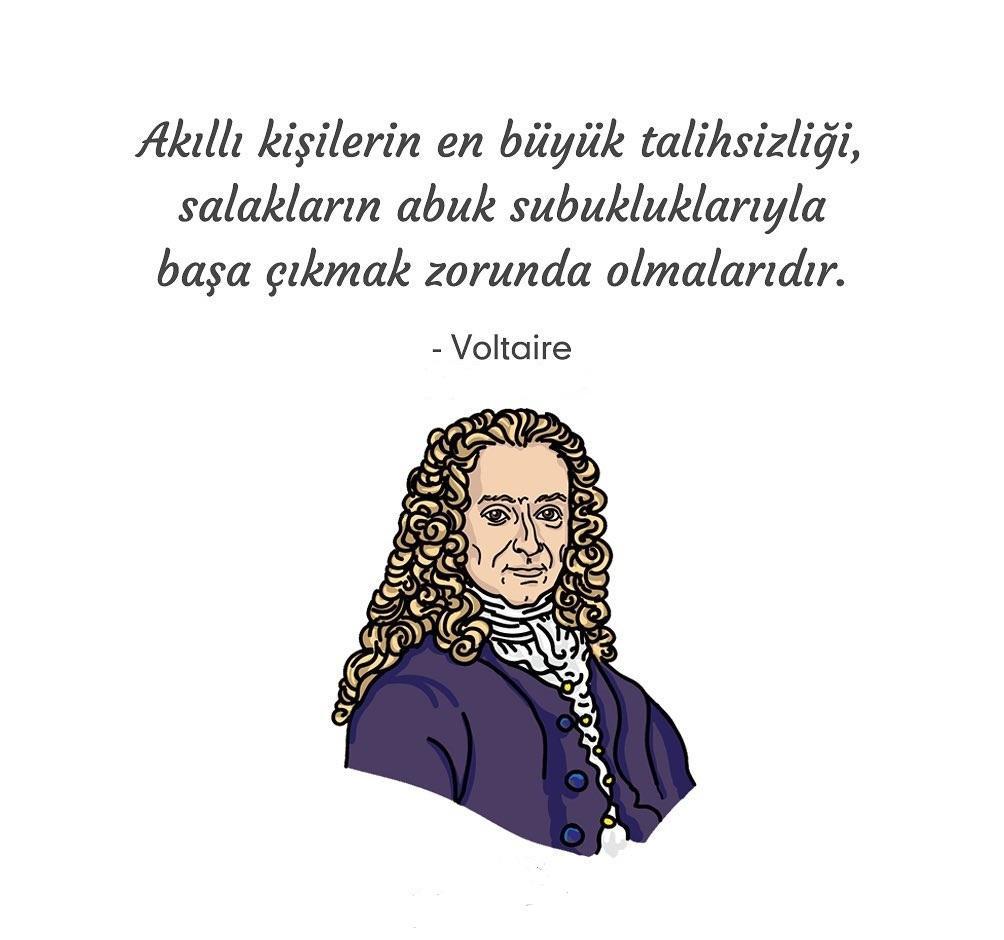 Voltaire Etkileyici Sözleri