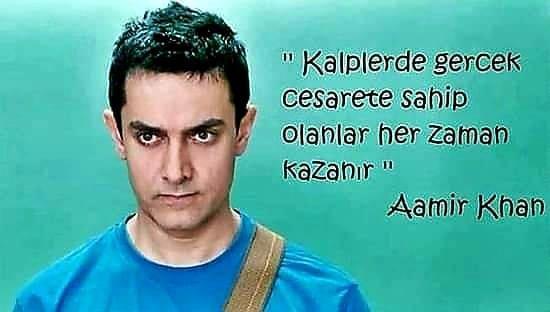 Aamir Khan Anlamlı Sözleri