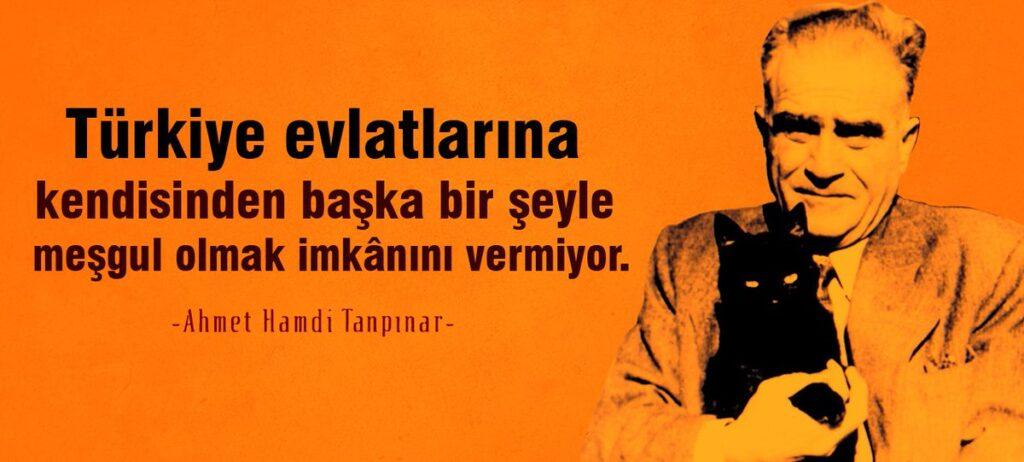 Ahmet Hamdi Tanpınar Anlamlı Sözleri