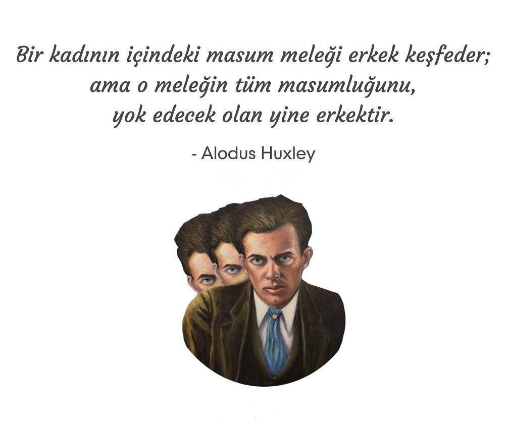 Aldous Huxley Anlamlı Sözleri