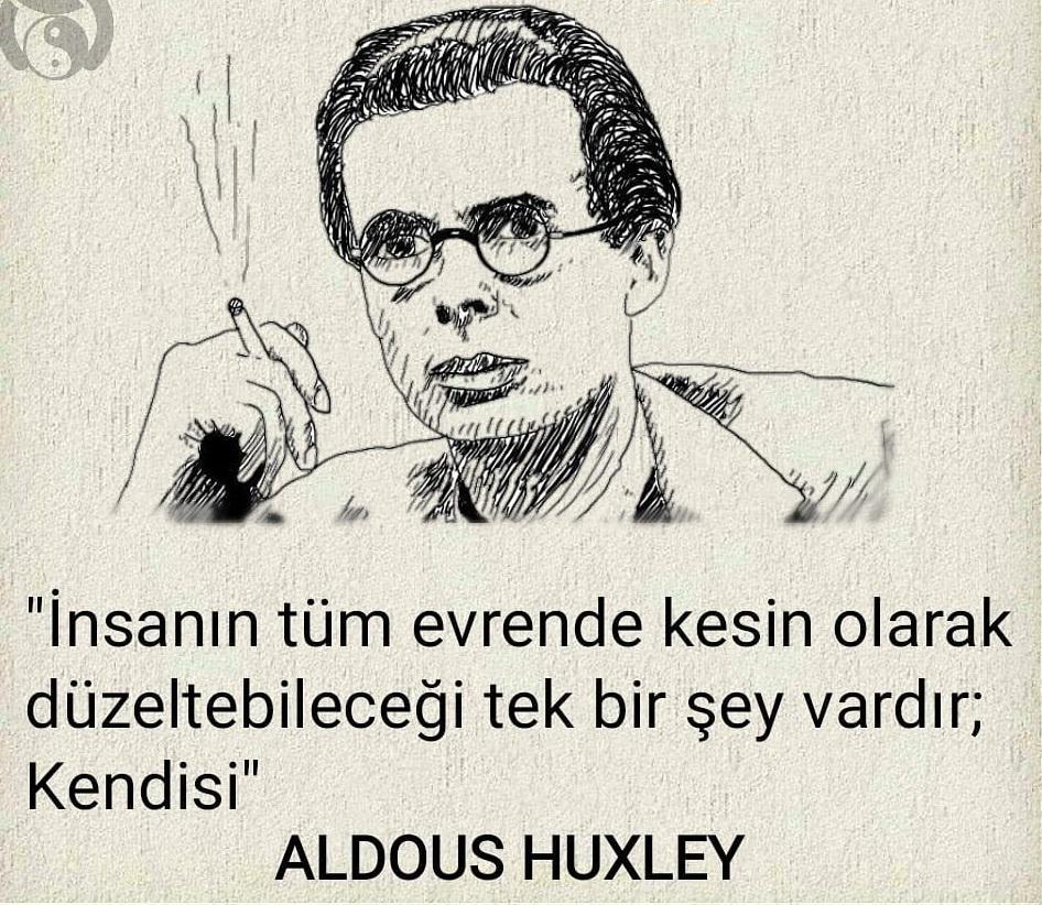 Aldous Huxley Etkileyici Sözleri
