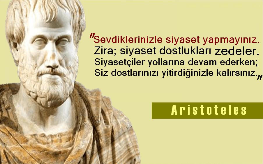 Aristoteles Etkileyici Sözleri