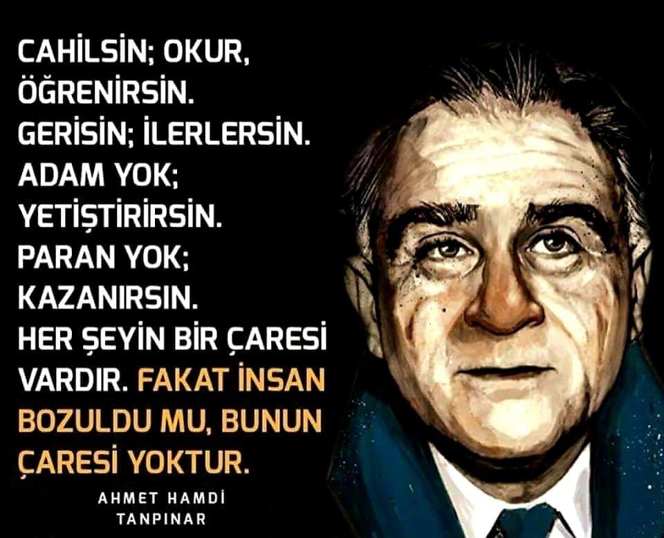 En Güzel Ahmet Hamdi Tanpınar Sözleri