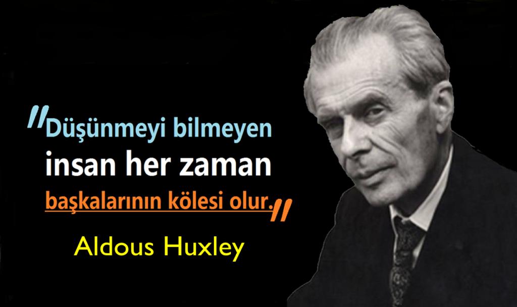 En Güzel Aldous Huxley Sözleri
