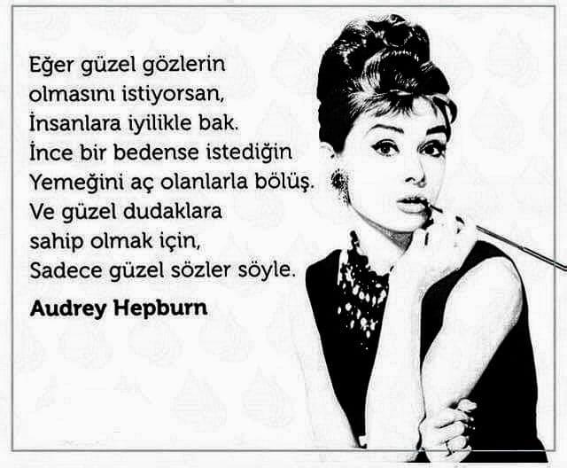 En Güzel Audrey Hepburn Sözleri