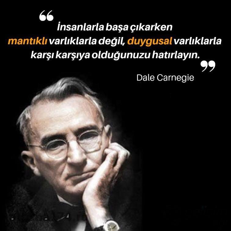 En Güzel Dale Carnegie Sözleri