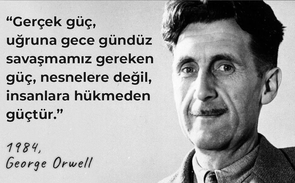 En Güzel George Orwell Sözleri