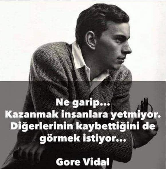 En Güzel Gore Vidal Sözleri
