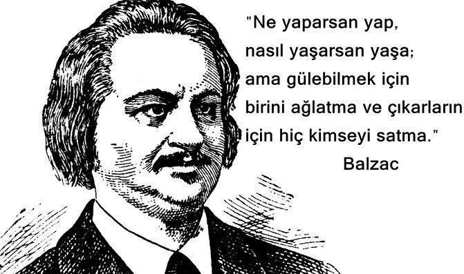 En Güzel Honore de Balzac Sözleri