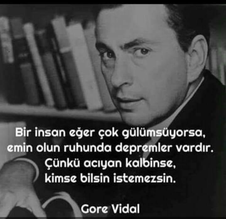 Gore Vidal Etkileyici Sözleri