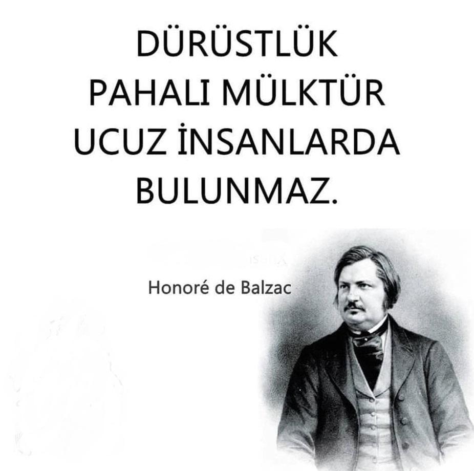 Honore de Balzac Anlanlı Sözleri