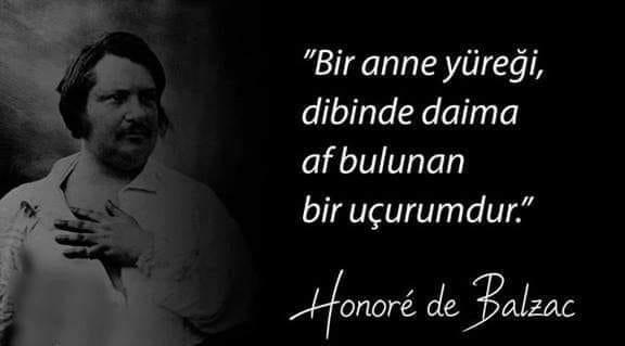 Honore de Balzac Etkileyici Sözleri