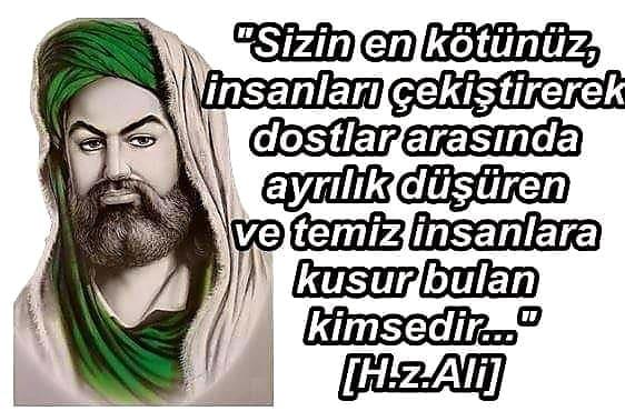 Hz. Ali Anlamlı Sözleri