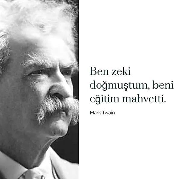 Kısa Mark Twain Sözleri