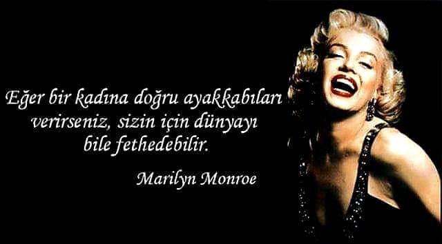 Marilyn Monroe Etkileyici Sözleri