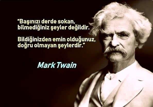 Mark Twain Anlamlı Sözleri