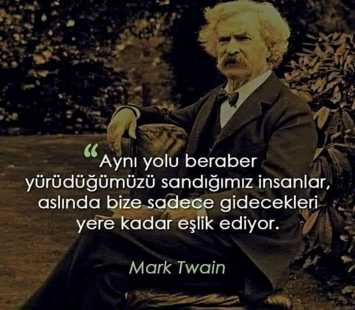 Mark Twain Etkileyici Sözleri