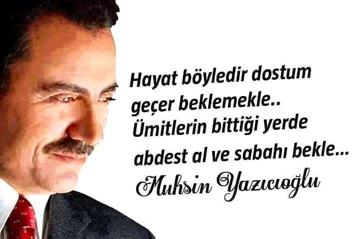 Muhsin Yazıcıoğlu Resimleri